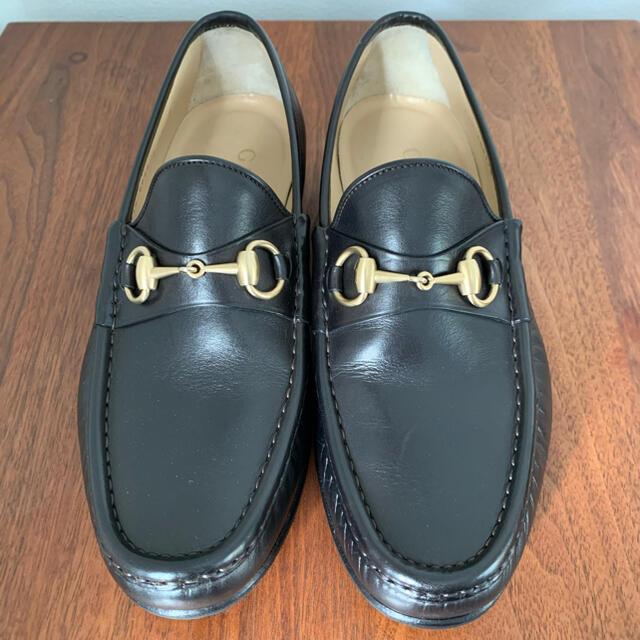 Gucci(グッチ)のGUCCI グッチ  ホースビットローファー 42E メンズの靴/シューズ(ドレス/ビジネス)の商品写真