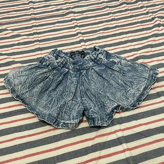 ジェニィ(JENNI)のJENNI  ジェニィ デニムパンツ スカート(パンツ/スパッツ)