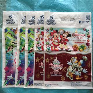 ディズニー(Disney)の☆もう手に入らない☆ 【ディズニー】2018年&35周年お土産袋7枚セット 新品(ショップ袋)