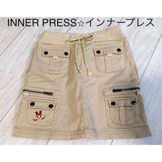 インナープレス(INNER PRESS)の『インナープレス⭐︎INNER PRESS』スカート 140㎝(スカート)