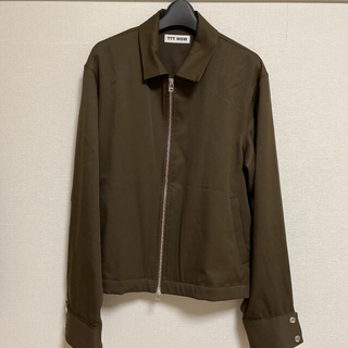 SUNSEA - ttt_msw 21ss new standard blouson brown