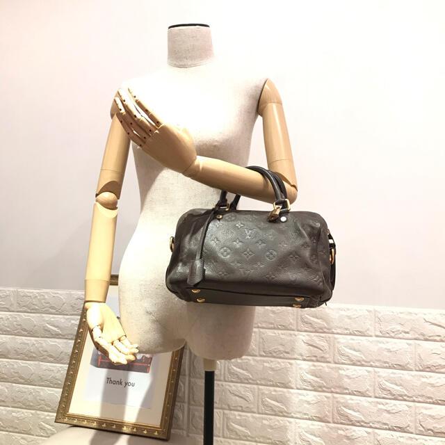 LOUIS VUITTON(ルイヴィトン)の美品【定価の約1/3】ルイ ヴィトン モノグラム アンプラント スピーディ25 レディースのバッグ(ハンドバッグ)の商品写真
