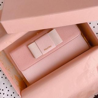 miumiu - 【新品.未使用】♡ミュウミュウ♡ピンク♡リボン財布♡