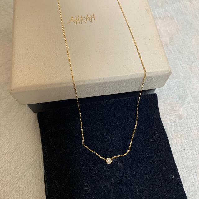 AHKAH(アーカー)の【最終値下げ】AHKAH(アーカー) ネックレス(18K YG ダイヤモンド) レディースのアクセサリー(ネックレス)の商品写真