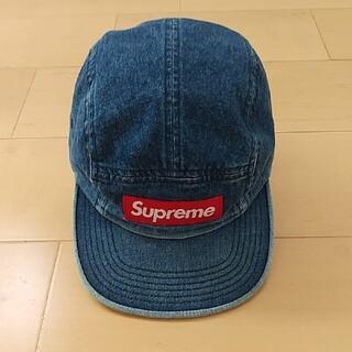 Supreme - supreme Denim camp キャップ