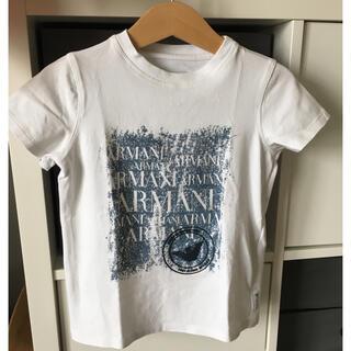 アルマーニ ジュニア(ARMANI JUNIOR)のアルマーニジュニアTシャツ4A106 半袖(Tシャツ/カットソー)