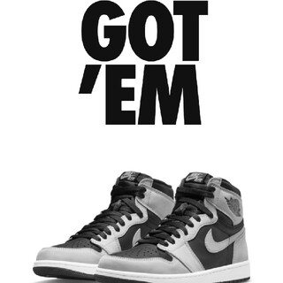 NIKE - 【28cm】AIR JORDAN 1 HIGH OG SHADOW 2.0