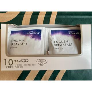 スターバックスコーヒー(Starbucks Coffee)のスターバックス ティバーナ イングリッシュ ブレックファスト 紅茶 10袋入り(茶)