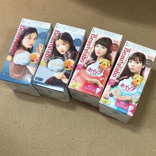 ホーユー(Hoyu)のビューティラボ ホイップヘアカラー 4色セット(カラーリング剤)