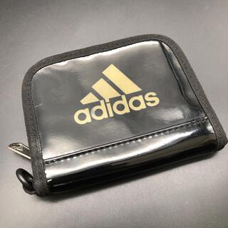 adidas - 即決 adidas アディダス エナメル 二つ折り財布