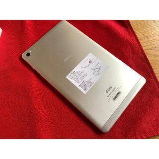 美品 d-02H シルバー Androidタブレット