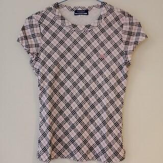 BURBERRY BLUE LABEL - バーバリーブルーレーベル Tシャツ ピンク