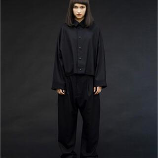 Yohji Yamamoto - my beautiful landlet ビッグウールシャツ