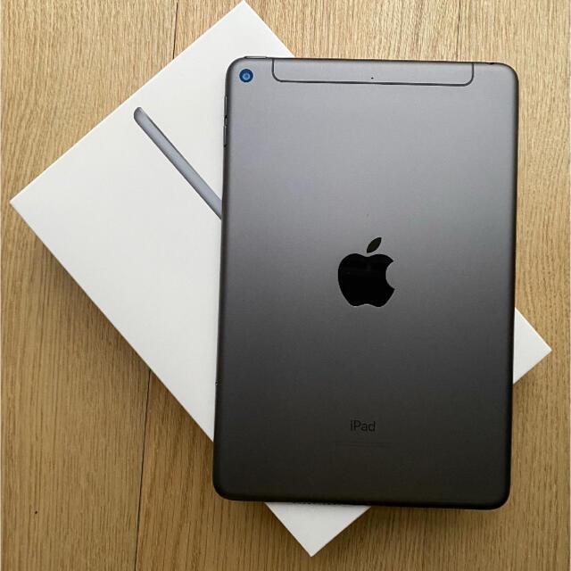 延長保証残有 iPad mini 第5世代 SIMフリー 256GB  スマホ/家電/カメラのPC/タブレット(タブレット)の商品写真