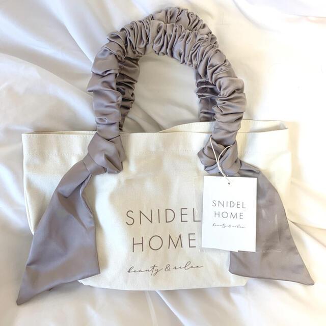 snidel(スナイデル)のsnidelhome トートバッグ S スナイデル スナイデルホーム レディースのバッグ(トートバッグ)の商品写真