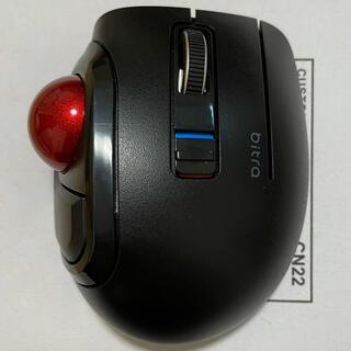 エレコム(ELECOM)のELECOM ワイヤレスマウス Bluetooth 静音 M-MT1BRSBK(PC周辺機器)