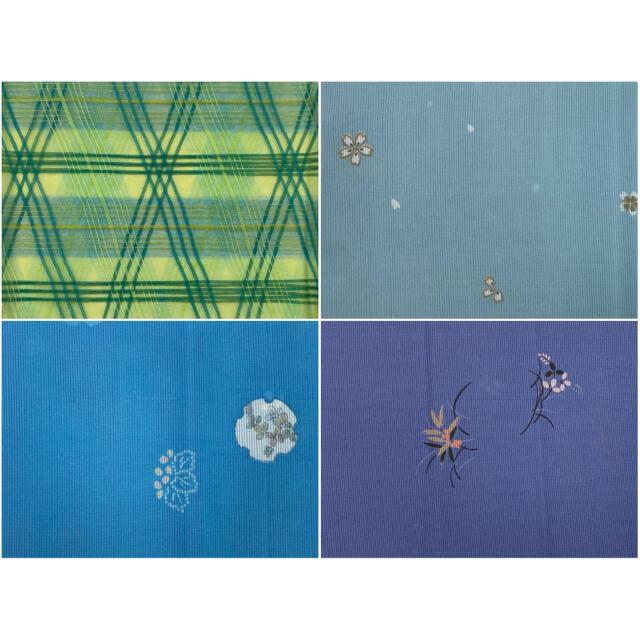 半衿セット(ポリエステル、夏用)No.204 レディースの水着/浴衣(和装小物)の商品写真