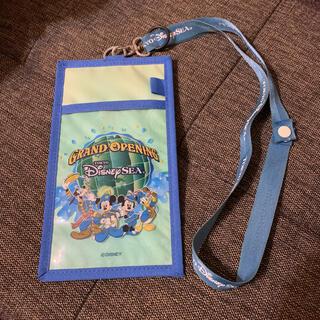 ディズニー(Disney)のディズニーシーグランドオープニング当時のチケットホルダー(遊園地/テーマパーク)