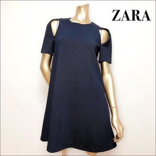 ZARA - ZARA ショルダー オープン ワンピース*earth ローリーズファーム