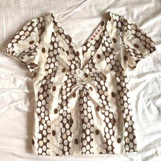 マルニ(Marni)のMARNI ブラウス (シャツ/ブラウス(半袖/袖なし))