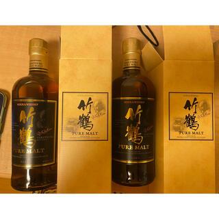 ニッカウヰスキー - 竹鶴 ニッカウヰスキーピュアモルト 500ml 終売ウイスキー ニッカウイスキー