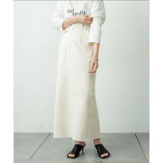 mystic - バックフレアタイトスカート