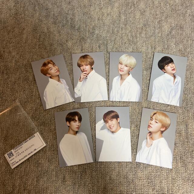 防弾少年団(BTS)(ボウダンショウネンダン)のVT BTS トレカ エンタメ/ホビーのCD(K-POP/アジア)の商品写真