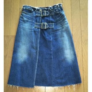 ヒステリックグラマー(HYSTERIC GLAMOUR)のヒステリックグラマーデニムスカート(ひざ丈スカート)