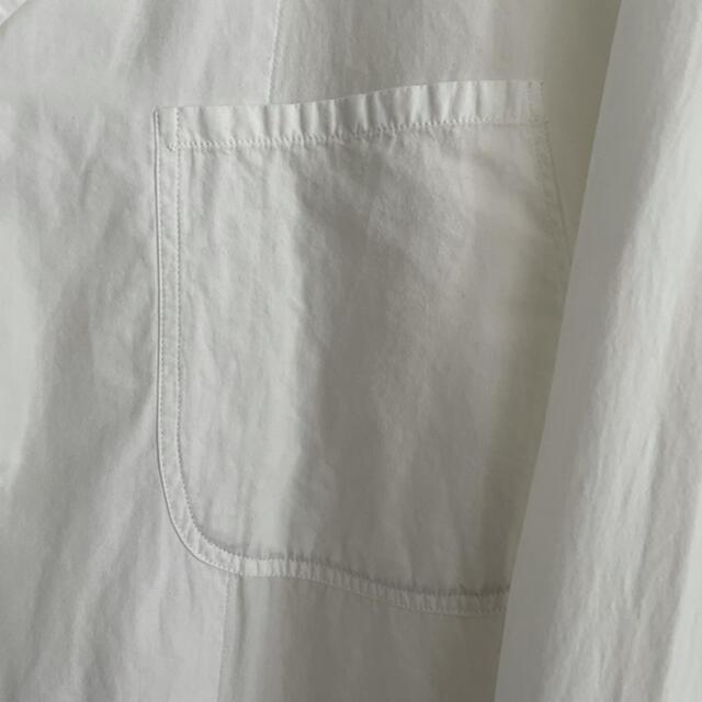 COMOLI(コモリ)の【良品】COMOLI コモリ シャツジャケット ブートニエール size1 メンズのジャケット/アウター(テーラードジャケット)の商品写真