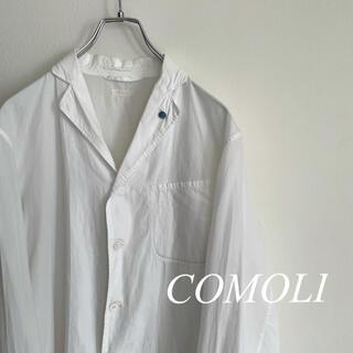 COMOLI - 【良品】COMOLI コモリ シャツジャケット ブートニエール size1