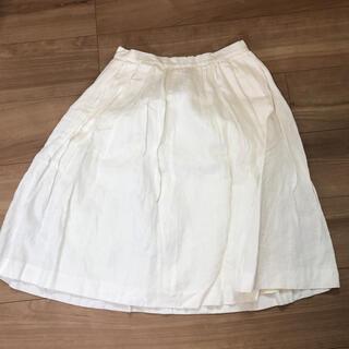 ノーブル(Noble)のノーブル  麻 スカート トゥモローランド  (ひざ丈スカート)