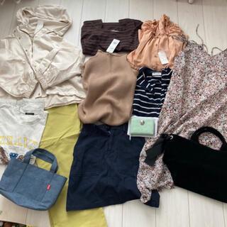 新品レディース福袋まとめ売りアウター夏Tシャツ(Tシャツ(半袖/袖なし))