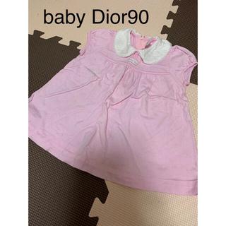 ベビーディオール(baby Dior)のベビーディオール チュニック ワンピース90(ワンピース)