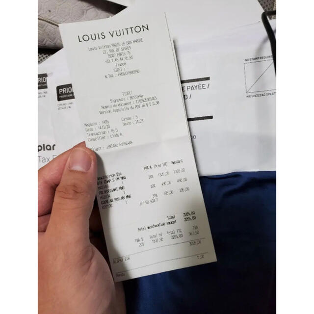 LOUIS VUITTON(ルイヴィトン)のLOUIS VUITTON ポシェットキリガミ  ポーチ3点セット、新品未使用品 レディースのバッグ(ハンドバッグ)の商品写真