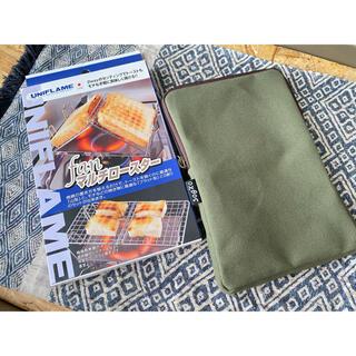 ユニフレーム(UNIFLAME)の【新品未使用 収納袋つき】ユニフレーム fanマルチロースター(調理器具)