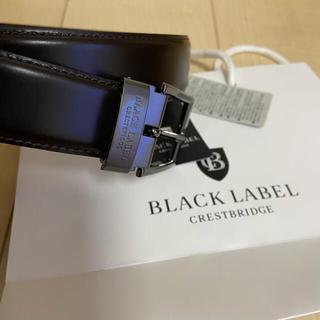 BLACK LABEL CRESTBRIDGE - ベルト クレストブリッジ ブラックレーベル