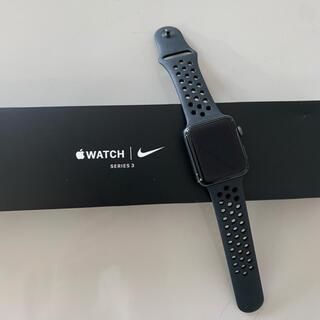 アップル(Apple)のApple Watc sensor3 NIKE42m mモデルGPS(その他)