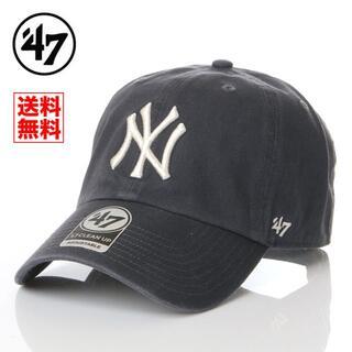 【新品】47BRAND NY ヤンキース 帽子 紺 キャップ レディース メンズ