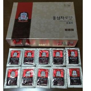 超激安★高濃縮極上高麗人参茶『正官庄6年根紅蔘茶・茶ラベル』《ROYAL》10袋(健康茶)