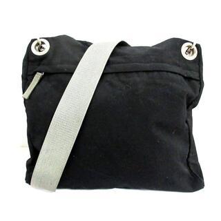 プラダ(PRADA)のプラダスポーツ - 黒×ライトグレー(ショルダーバッグ)