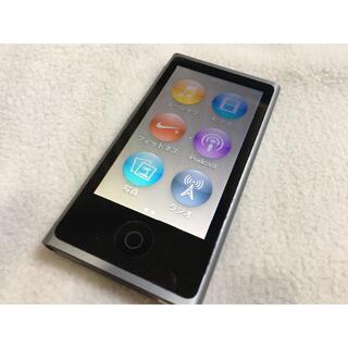 Apple - 【美品】Apple iPod nano 第7世代 16GB スペースグレー