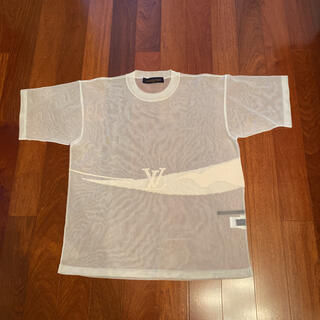 ルイヴィトン(LOUIS VUITTON)のLOUIS VUITTON 19ss シースルー ニットロゴ(Tシャツ/カットソー(半袖/袖なし))