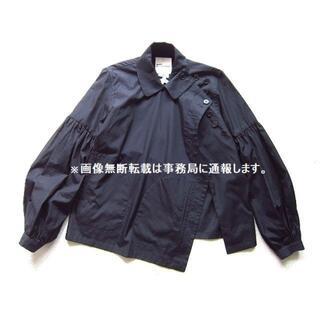 COMME des GARCONS - 美品 noir kei ninomiya サイド ボタン ブラウス ジャケット