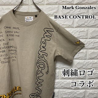 ベースコントロール(BASE CONTROL)の【Mark Gonzales × BASE CONTROL 】コラボ Tシャツ(Tシャツ/カットソー(半袖/袖なし))