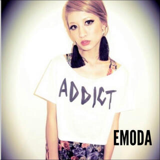 EMODA - EMODA  花柄 タンクトップ カットソー*ムルーア ジーナシス ANAP