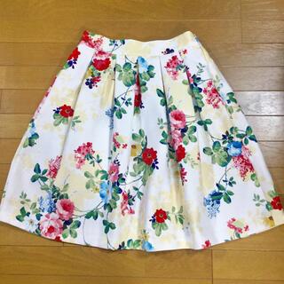 華やか★花柄スカート 美品