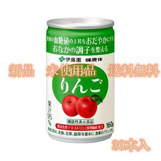 健康体 国産りんご 缶160g 30本入(その他)