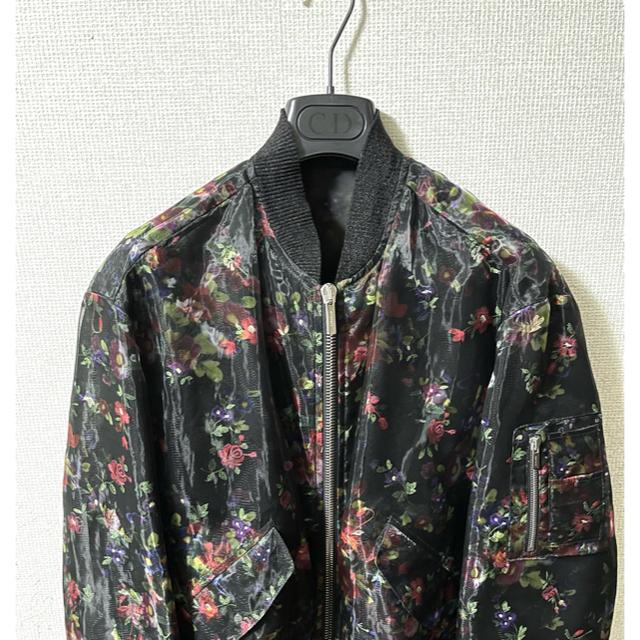 DIOR HOMME(ディオールオム)の定価100万 クチュールフラワーブルゾン Dior Homme ディオールオム メンズのジャケット/アウター(ブルゾン)の商品写真