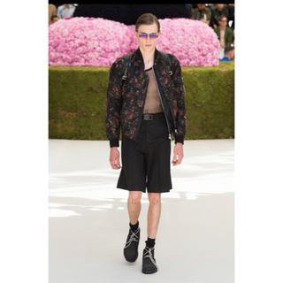 DIOR HOMME - 定価100万 Dior men クチュールフラワーブルゾン Dior Homme