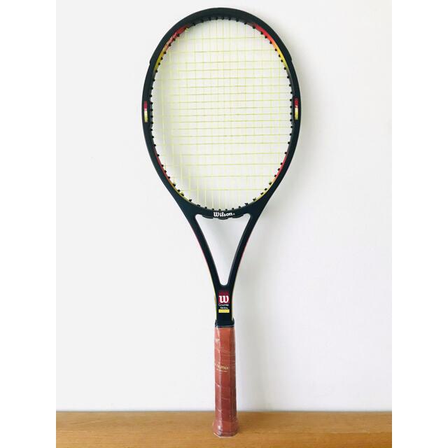 wilson(ウィルソン)の【美品】ウィルソン『プロスタッフ クラシック 85』テニスラケット/台湾製/希少 スポーツ/アウトドアのテニス(ラケット)の商品写真